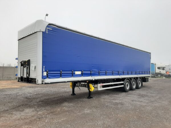 Wielton blue trailer